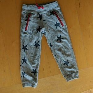 Boys Hanna Andersson Star Sweatpants, Size 100